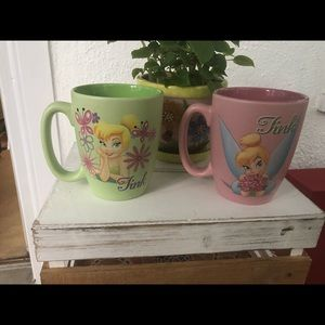 Disney Tinkerbell mugs